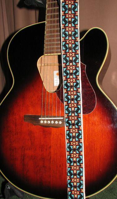 Бісерний пасок для гітари