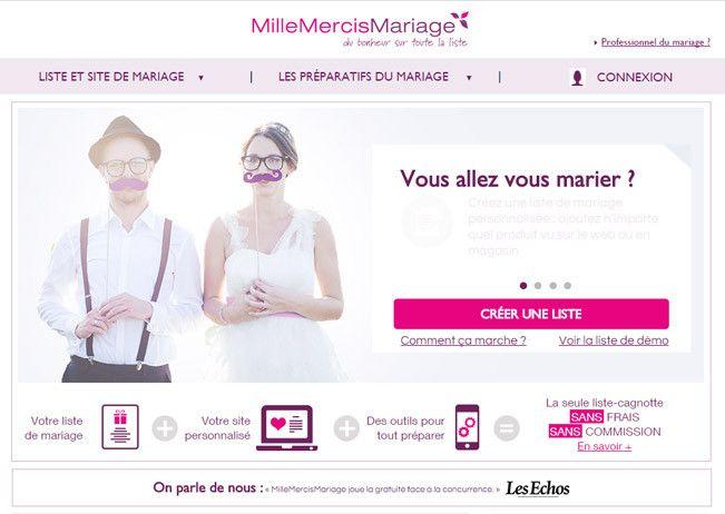 Mille Mercis Liste De Mariage