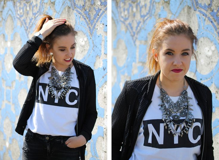 Horloge – DKNY | Lipstick – Rimmel (Lasting Finish by Kate 05) | Nagellak – Orly (First Blush)