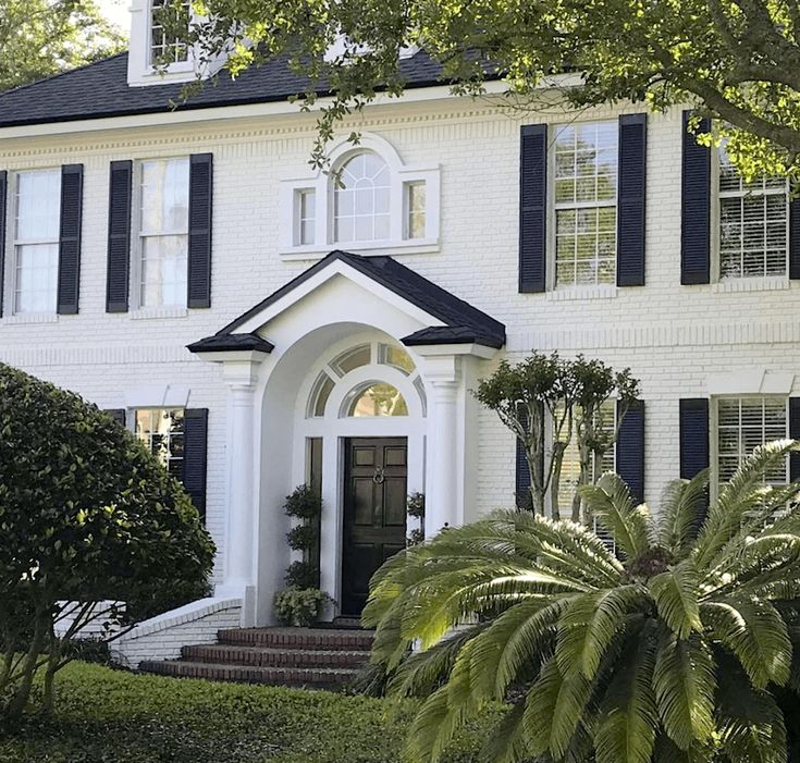 72 Best Exterior Painted Brick Homes Images By Eleni Decor