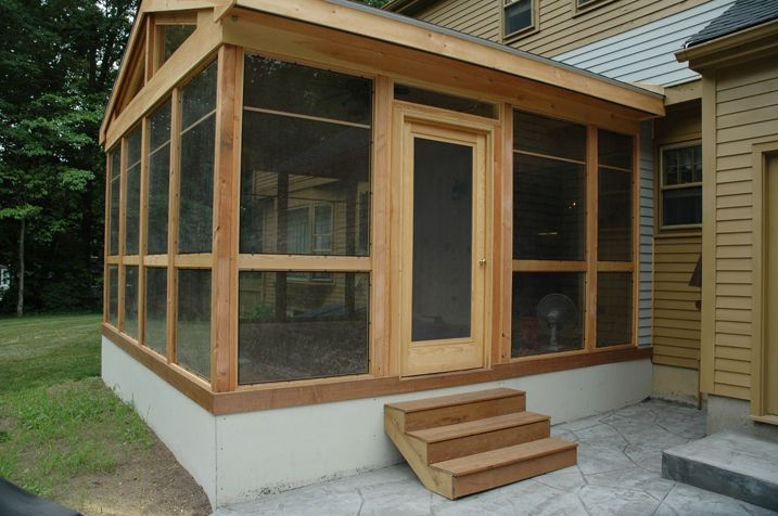 Screened Porches Screened Porch Old Saybrook Ct
