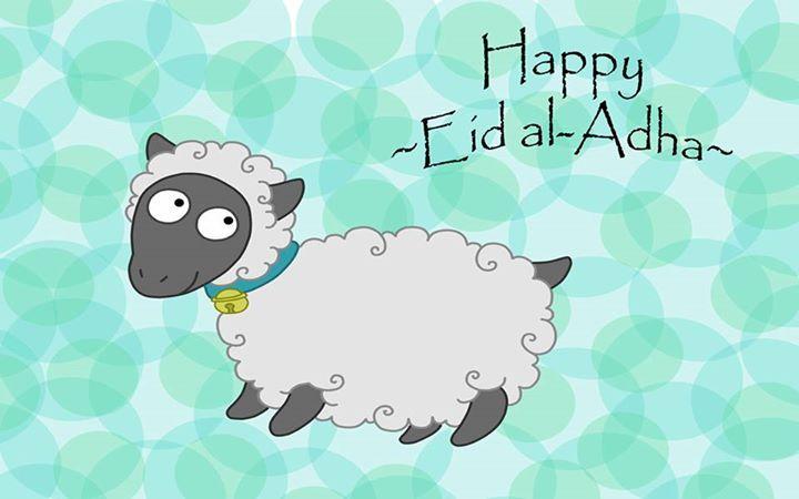 عيد اضحى مبارك  -  Happy Eid Al-Adha