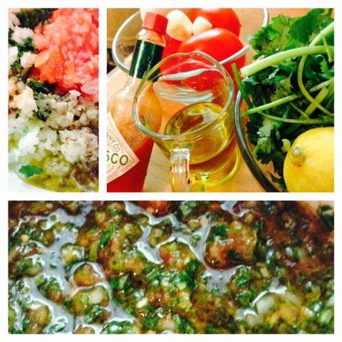 Les Gâteries Gourmandes de Graciela : Pebre: Salsa chilienne
