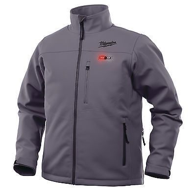 M12 Grey Heated Jacket XLarge Naked No Batteries Or Charger Milwaukee 4933451594