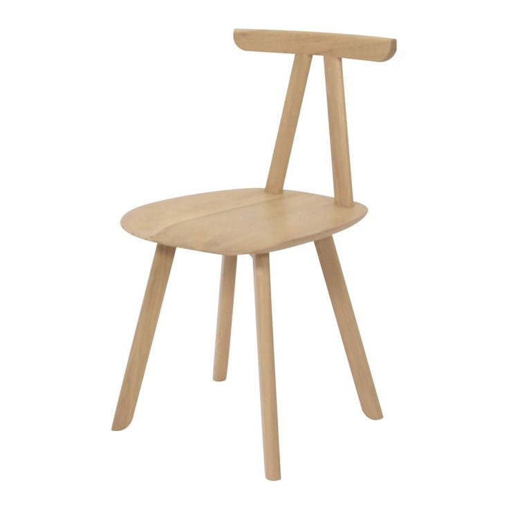 Chaise Juka Naturel - ENOstudio - Conçue en chêne massif, la chaise Juka d'ENOstudio manifeste un design qui puise son inspiration dans l'esthétique de l'architecture japonaise : ses lignes légères et simples dessinent un meuble dynamique et confortable à la fois, idéal dans l'intérieur contemporain. Disponible en plusieurs coloris, la chaise Juka convient aussi bien dans un salon que dans une chambre ou un bureau.