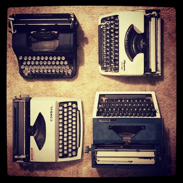 Antique Typewriters