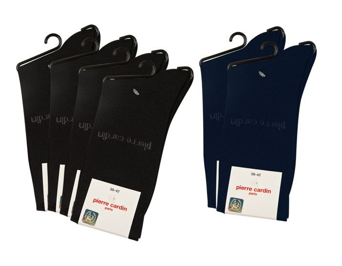 Pierre Cardin Men's socks 3 x Navy i 3 x Black 39-42 | MEN \ Socks | SOXO socks, slippers, ballerina, tights online shop