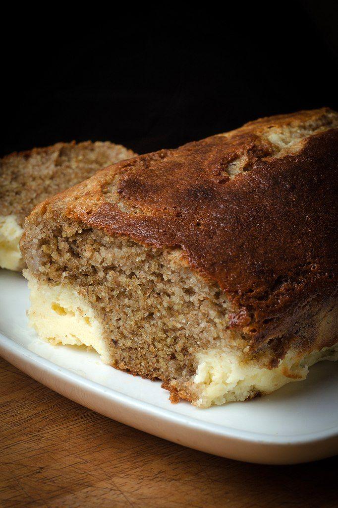 My lovely cake - Банановый хлеб со сливочным сыром