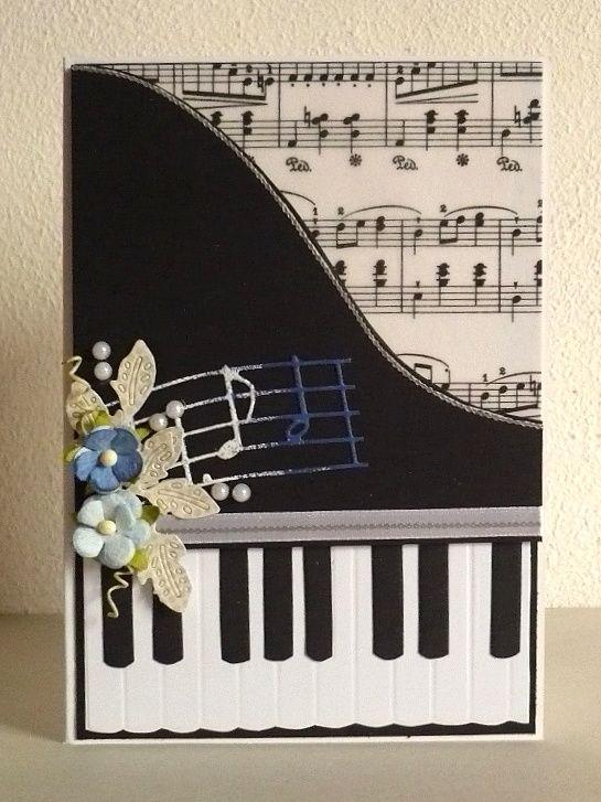 card - piano