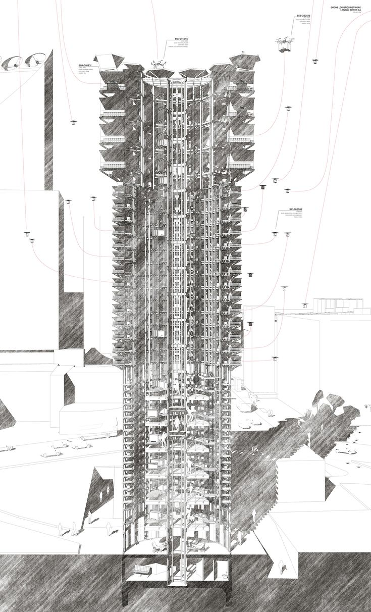 Sectional Perspective Drawing | Shogo Suzuki #Architecture #Drawing #Student