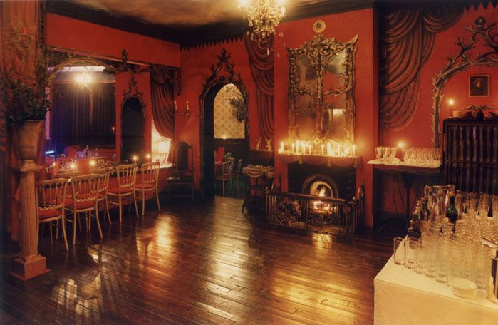 Gothic dining room gothic medieval old world for Victorian house dining room ideas