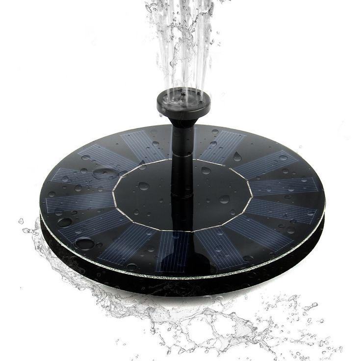 The 25 Best Solar Powered Fountain Pump Ideas On