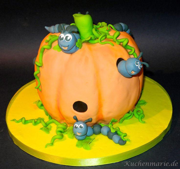 Geburtstagstorte zum 4. Geburtstag :-) Pumpkin Novelty Cake for a 4th birthday :-)