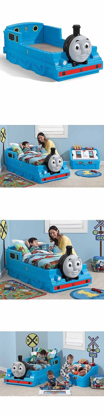 Home D cor 146110: Step2 Thomas The Tank Engine Toddler Bed -> BUY IT NOW ONLY: $208.77 on eBay!