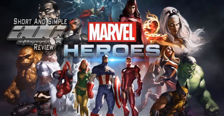 ADG Short And Simple Review: Marvel Heroes