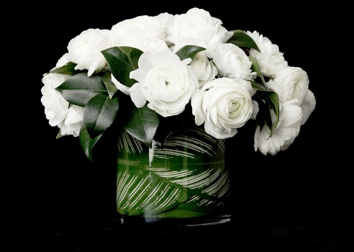 Obsessed with white flowers. Eric Buterbaugh