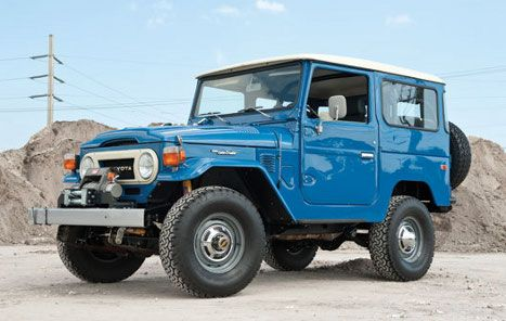 vintage land cruisers | Toyota Land Cruiser FJ40 (1960-1984)