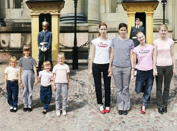 Same sister pose  Check Out These Hilariously Recreated Childhood Photos • Page 2 of 6 • BoredBug
