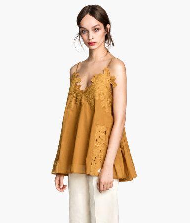 H&M Cotton top £29.99