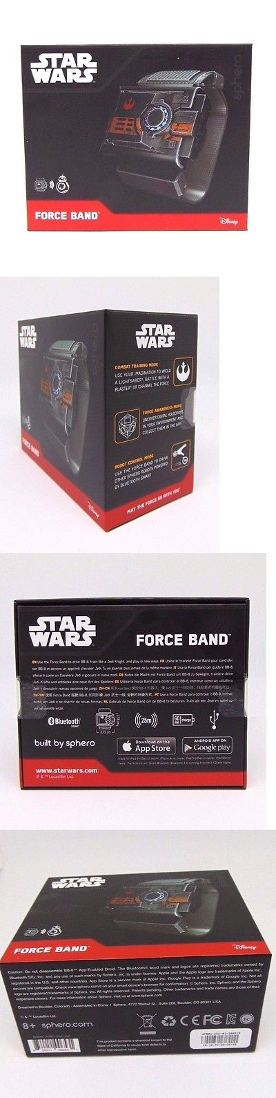 Universe 158725: Sphero Star Wars Force Band Model: Afb01 Bb-8 App Enabled Droid With Bluetooth -> BUY IT NOW ONLY: $55.28 on eBay!