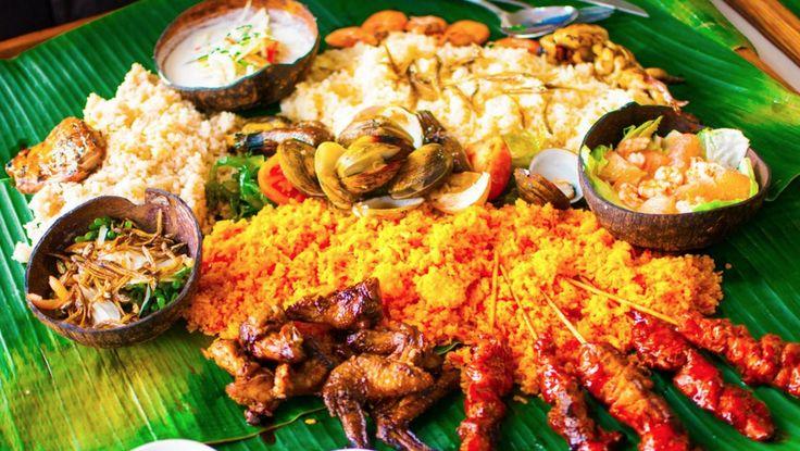 Filipino Kamayan My Favorite Filipino foods Pinterest
