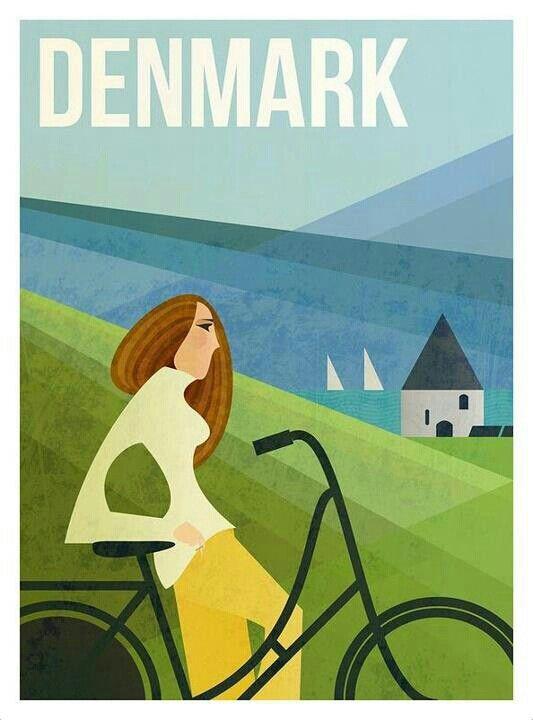 Tanska, tuo pyöräilyn luvattu maa.