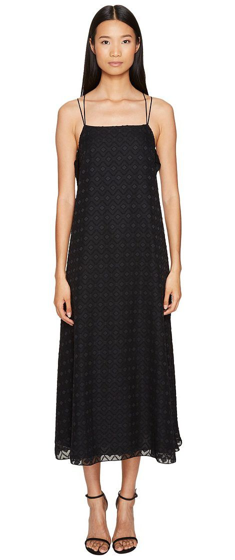 Sportmax Venaco Sleeveless Maxi Dress (Black) Women's Dress - Sportmax, Venaco Sleeveless Maxi Dress, 72211974000, Apparel Top Dress, Dress, Top, Apparel, Clothes Clothing, Gift - Outfit Ideas And Street Style 2017