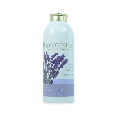Bronnley Lavender Talc 100g Bronnley Lavender Talc 100g (Barcode EAN=5012598007489) http://www.MightGet.com/january-2017-12/bronnley-lavender-talc-100g.asp