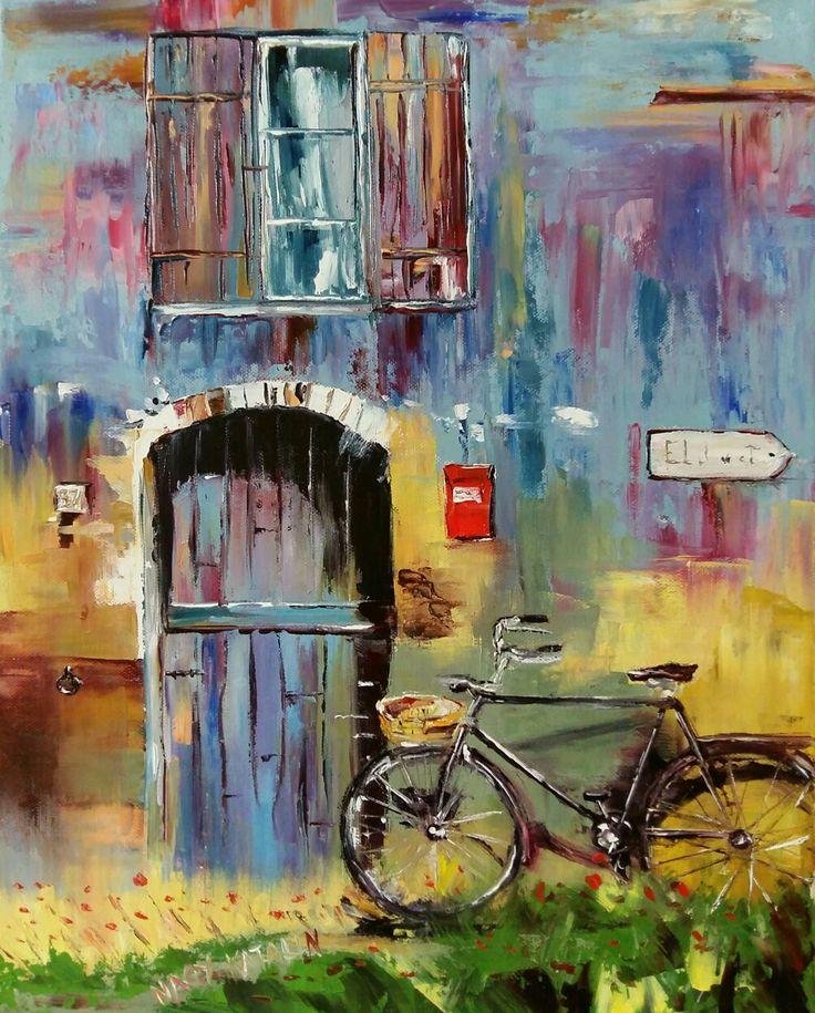 Based on Gleb Goloubetski's painting 50x40 oil canvas
