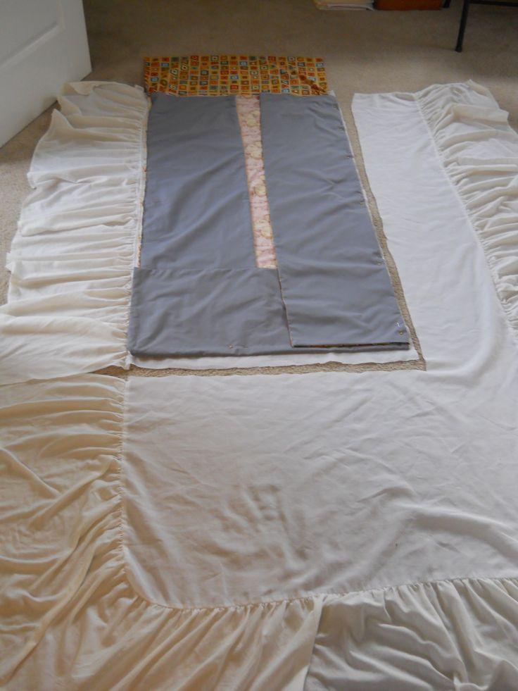 25 Best Ideas About Dust Ruffle On Pinterest Diy Bed