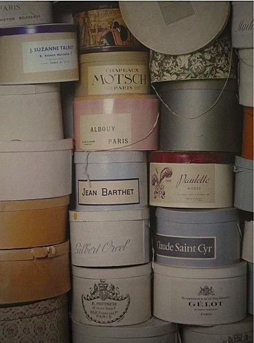 boîtes à chapeaux