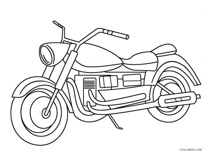 Motorcycle Coloring Pages Free Printable Motorcycle Coloring Pages