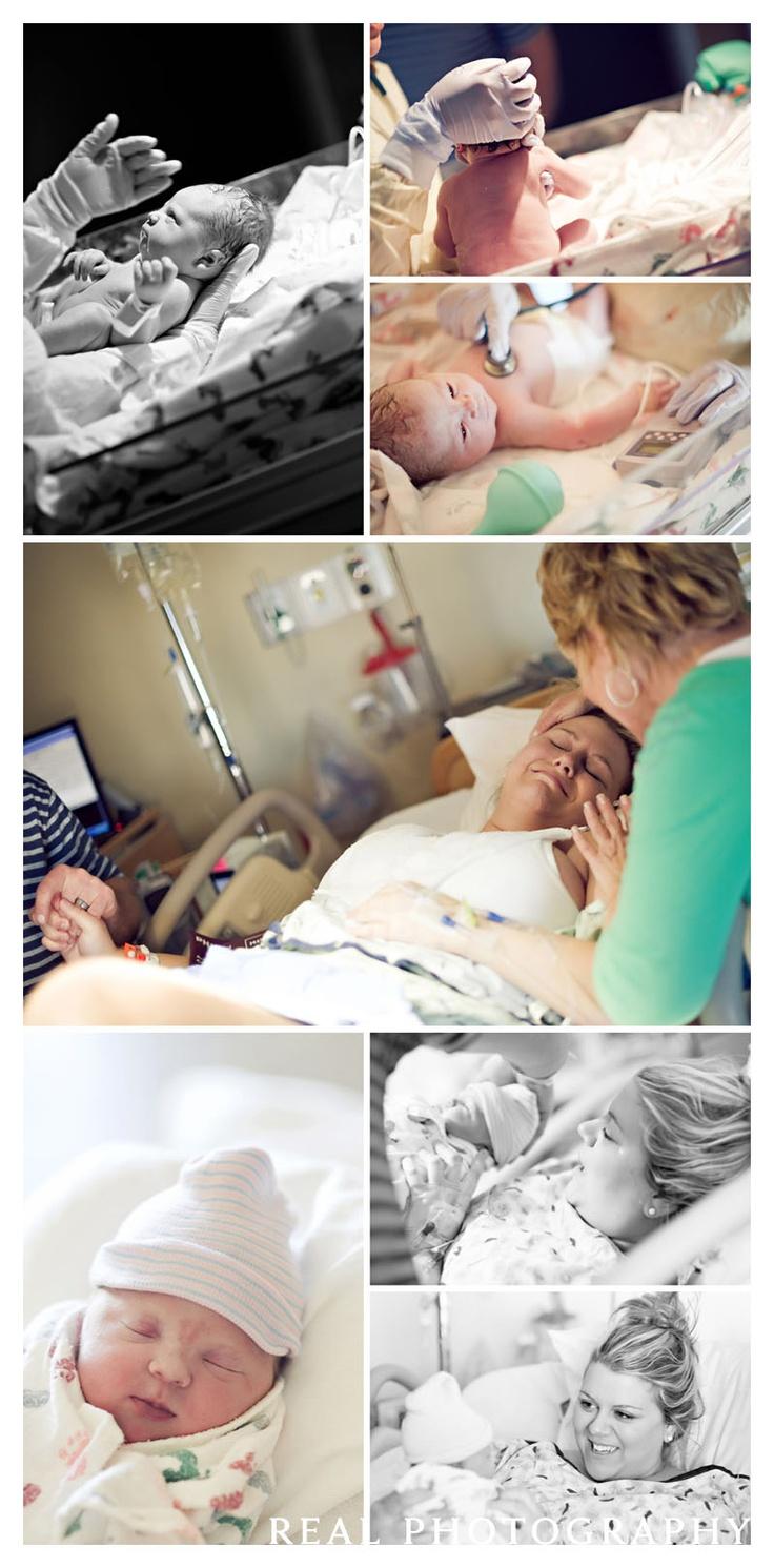 hospital birth photography