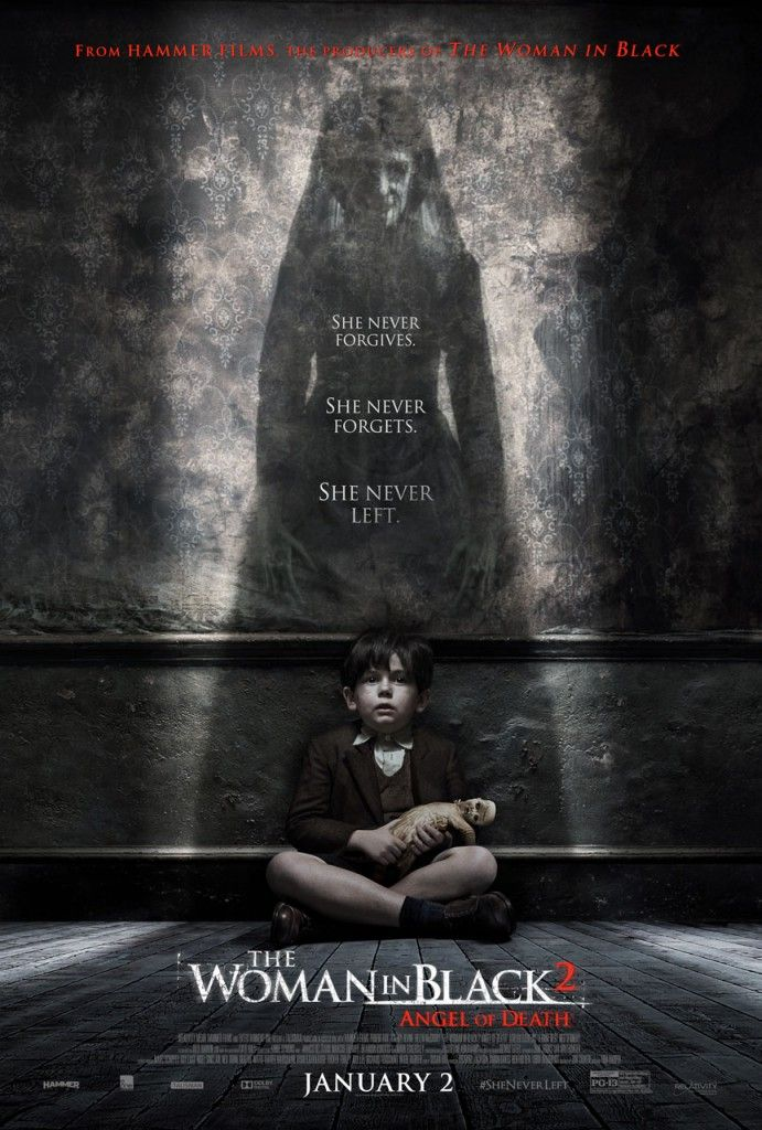 Evil Lurks in The Woman in Black: Angel of Death Poster. Was ok and worth a watch.