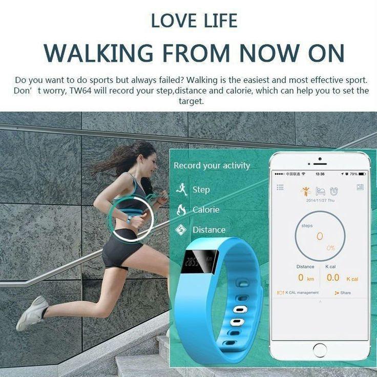 Bluetooth 4.0 Fitness Tracker for Smart Phones – http://activatebynature.com