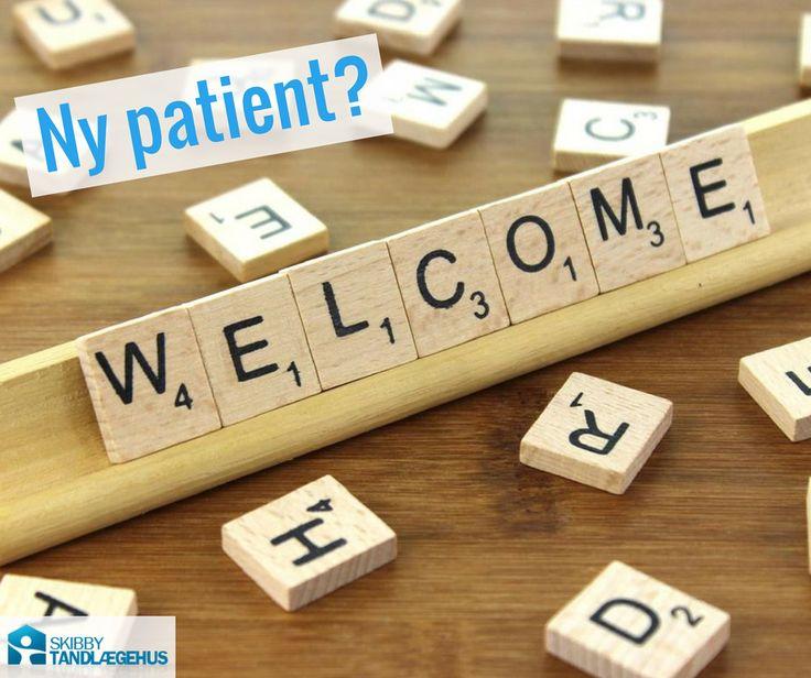 Ny patient? Som ny patient hos Skibby Tandlægehus vil du ved første besøg typisk få foretaget en undersøgelse og taget de nødvendige røntgenbilleder for at få et overblik over din tandstatus. Derefter laver vi normalt en almindelig tandrensning. #velkommen #tandlægeskibby #skibbytand