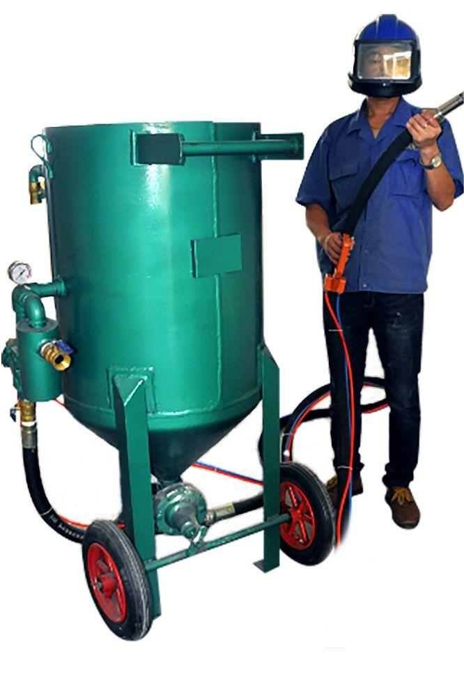 Portable Pressure Pot Sandblaster For Sale Sand Blasting Machine Pressure Pot Abrasive Blaster