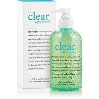 Philosophy Clear Days Ahead Acne Treatment Cleanser - 8oz