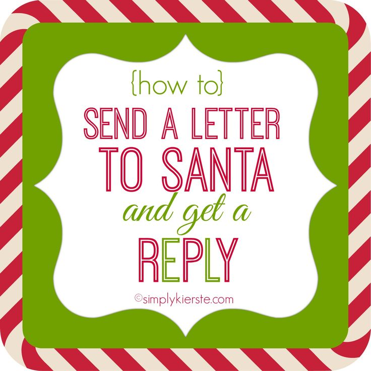 1000 Ideas About Letter To Santa On Pinterest