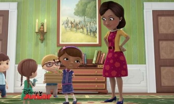 "First Lady Michelle Obama to Appear on Disney Jr.'s ""Doc McStuffins"" to Honor Child Health Day"