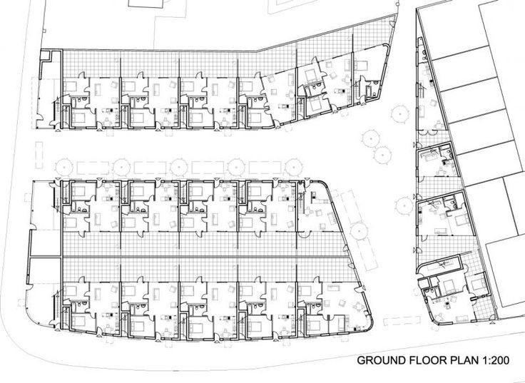 Peter Barber Architect Donny Brook Quarter Housing Low
