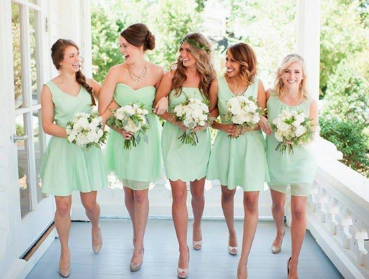 Magníficos vestidos de damas de honor | Moda y tendencias
