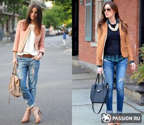 Самые классные порванные джинсы