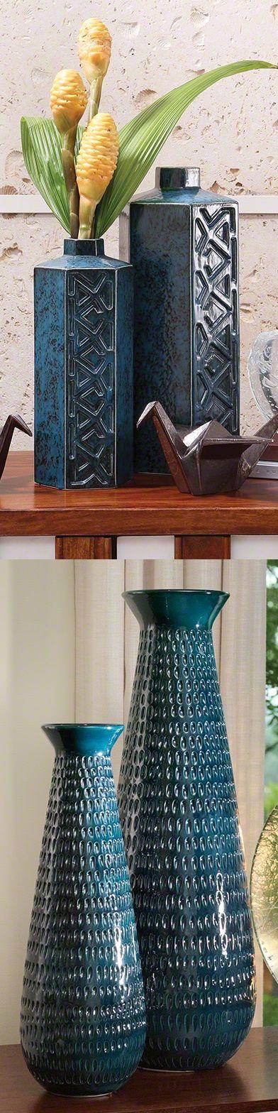 Blue Porcelain Vases | Blue Ceramic Vases