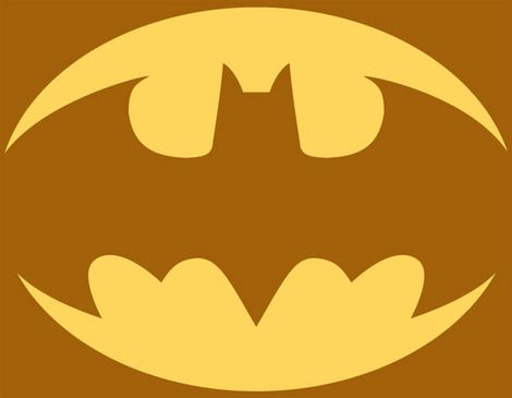 **Mandie,Kristen would luv this** Batman symbol pumpkin carving pattern:Chase is going to LOVE this!