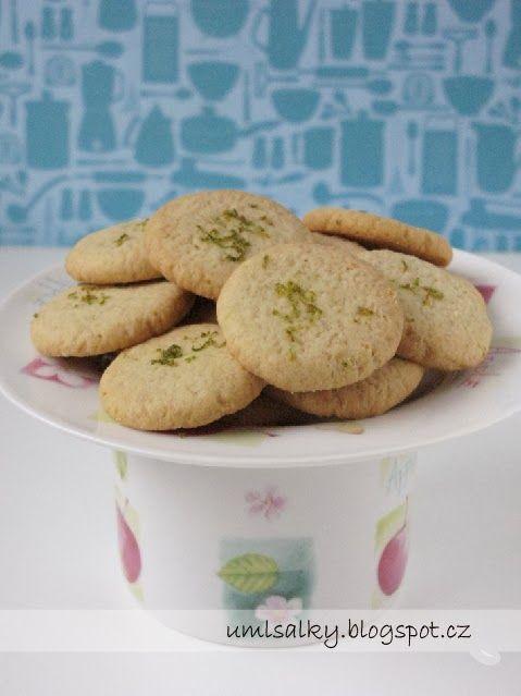 U+mlsalky:+Limetkovo+-+zázvorové+cookies
