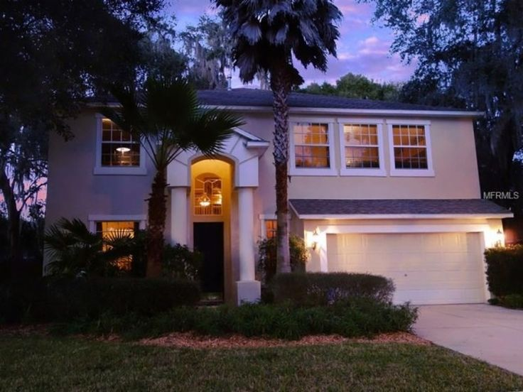 Twilight Photography | Gorgeous Tampa Home for Sale | Gated Lake Community | 3,586 sq. feet | 5 bedrooms | 3 bathrooms | Tampa Relocation | 604 Apache Ln, Seffner, FL 33584 | MLS #T2798339 | Zillow