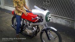 Drixton Honda 500 Blackbomber