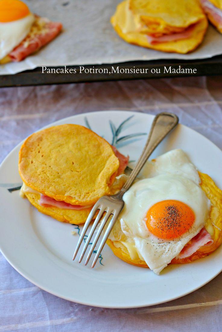 Pancakes Potiron,Monsieur ou Madame 1
