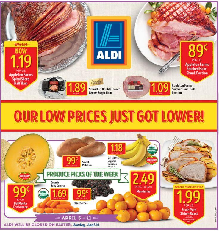 Aldi Weekly Ad April 12 - 18, 2017 - http://www.olcatalog.com/grocery/aldi-ad.html